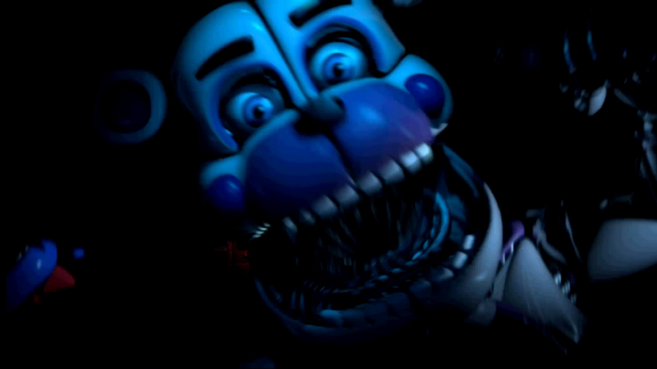 Funtime Freddy Jumpscare Loop Fnaf 5 Five Nights At Freddy S Sister Location Youtube