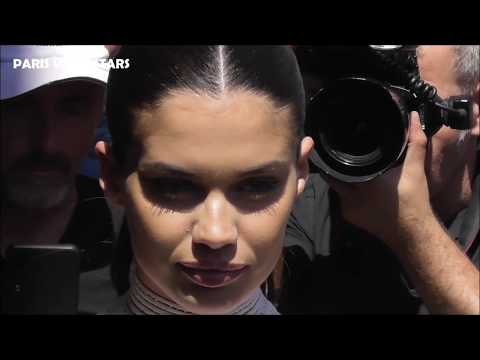 VIDEO Sara SAMPAIO attends Paris Fashion Week 3 july 2019 show Jean Paul Gaultier