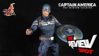 Collectible Spot - Hot Toys Cpt America Winter Soldier Stealth S.T.R.I.K.E Suit Sixth Scale figure