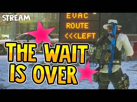 WE FINALLY DID IT - The Division Live Stream