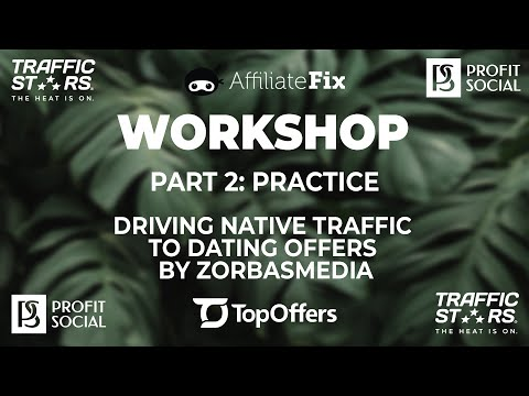 Native Ads For Dating Offers By ZorbasMedia. Part 2 Practice
