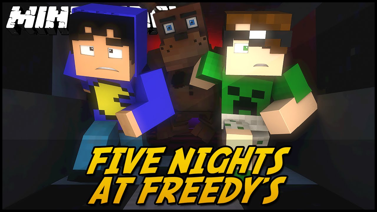 minecraft 5 nights at freddys 3