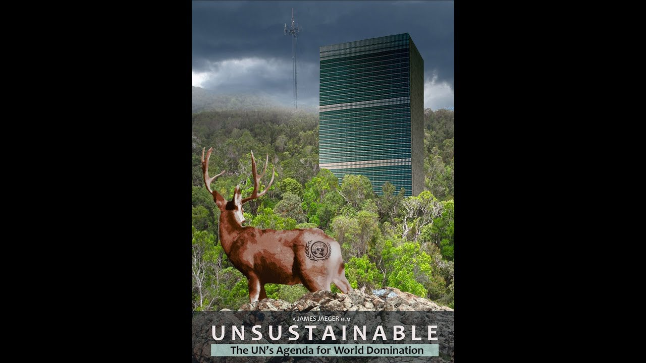 """UNSUSTAINABLE: The UN's Agenda for World Domination, Part I - """"The Theory"""""""