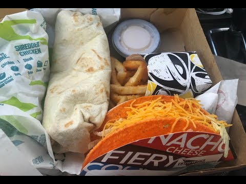 Taco Bell: Nacho Fries Box Review