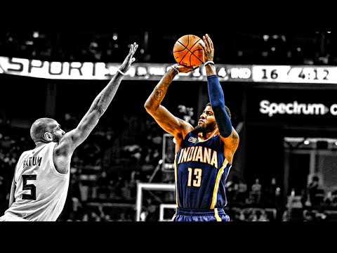 Paul George Slow Motion Shooting Compilation ᴴᴰ