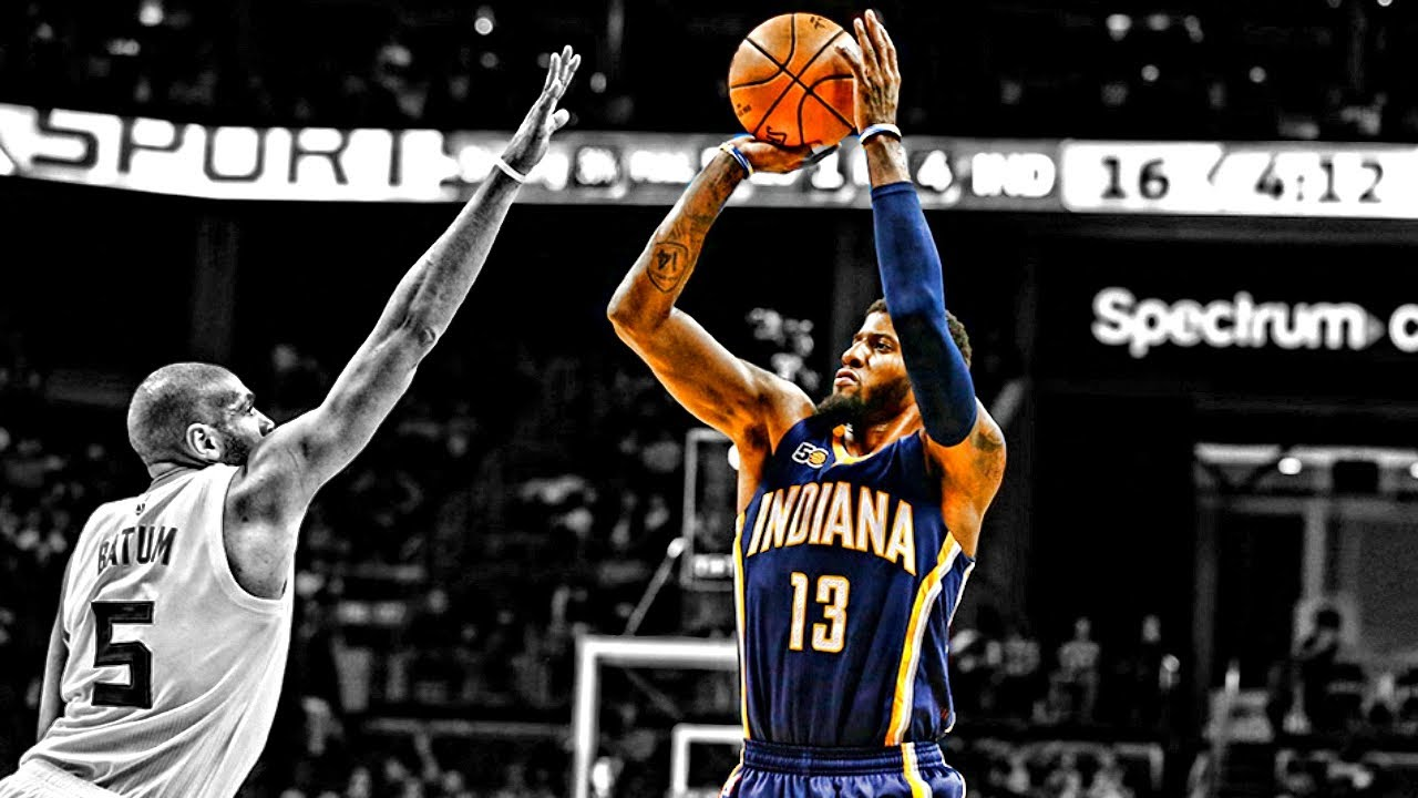 Paul George Slow Motion Shooting Compilation ᴴᴰ - YouTube