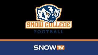 Snow College Football Vs. Pima CC 11 3 2018