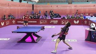 【世界卓球2016】水谷隼 気迫のスーパーラリーでグループリーグ一位通過を決める!