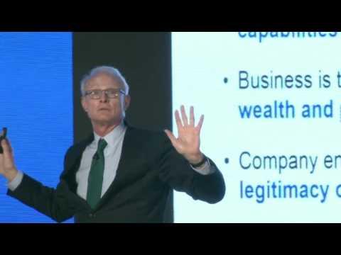 "Keynote on ""Creating Shared Value"" by Michael Porter, Professor, Harvard Business School"