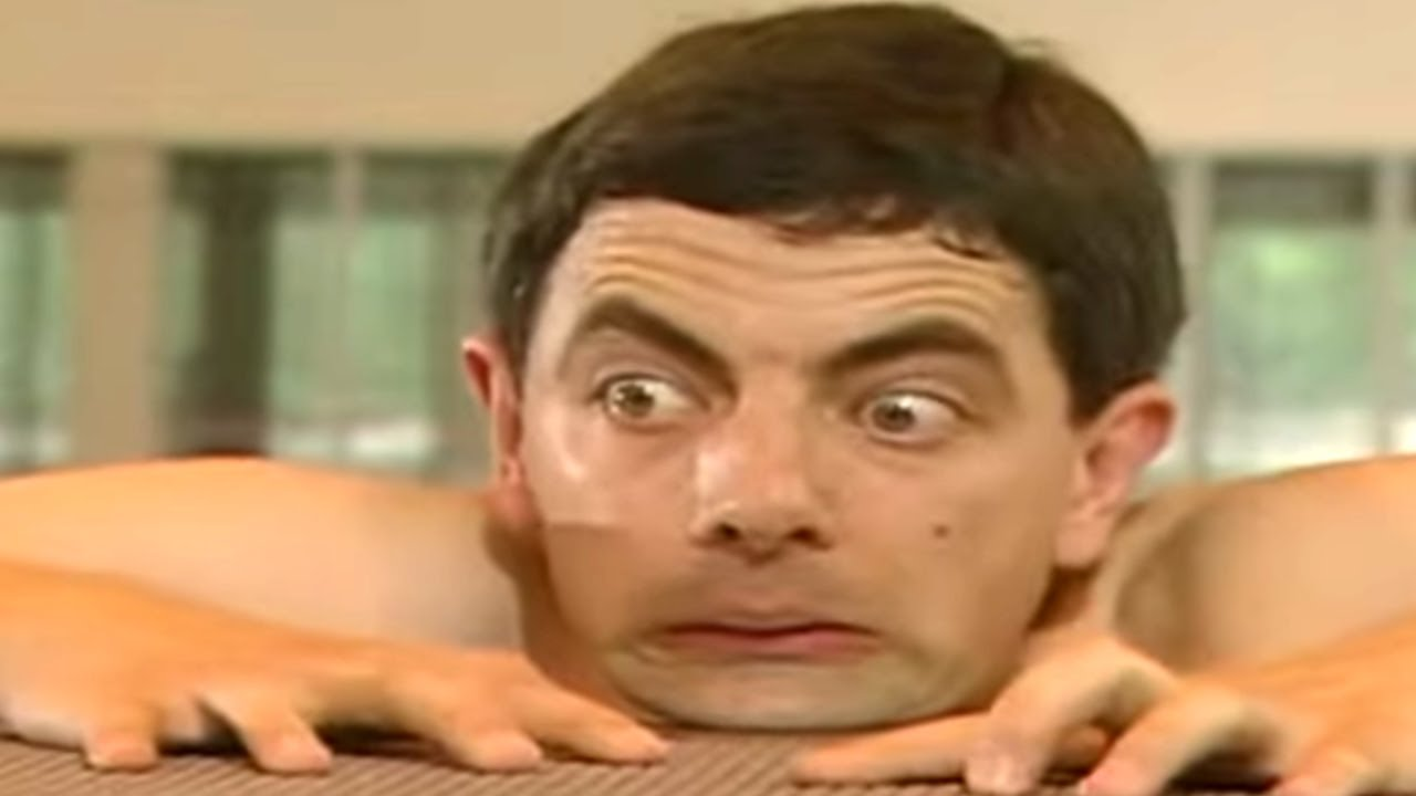 Falling From High Dive Board Mr Bean Official Youtube
