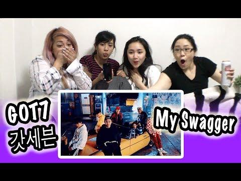 [MV REACTION] GOT7 갓세븐 -- MY SWAGGER