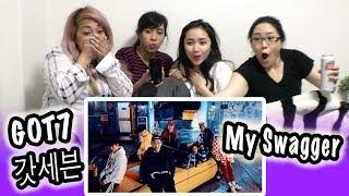 [MV REACTION] GOT7 갓세븐 -- MY SWAGGER thumbnail