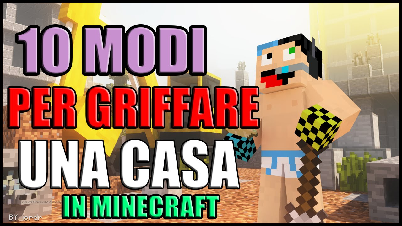 10 modi per griffare una casa in minecraft youtube for Modi convenienti per costruire una casa