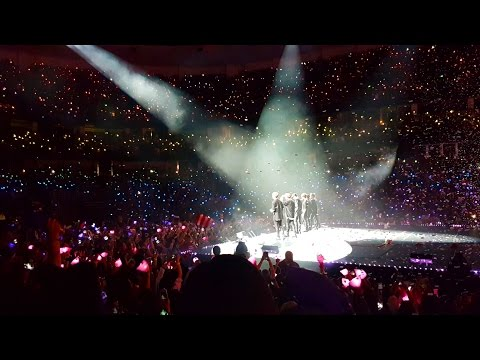 BTS in Anaheim Day 2 - Ending with Rainbow Ocean