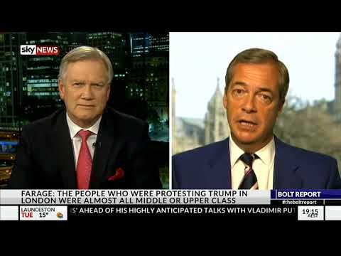Nigel Farage discusses BREXIT, Pres. Trump - The Bolt Report - July 16, 2018