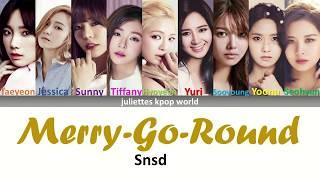 Snsd- Merry-Go-Round (color coded han/rom/eng lyrics)