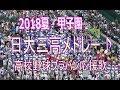 日大三高【応援歌メドレー8曲】日大三チャンステーマ、エヴァ他【2018夏甲子園】