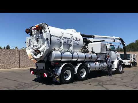 2006 Sterling L9500 Vactor 2112-J6 Hydro Excavation Truck For Sale