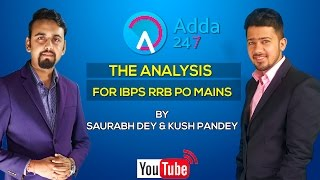 IBPS RRB PO MAINS ANALYSIS 2017 Video