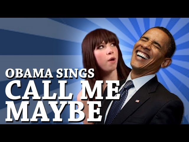 Obama sings sexy back