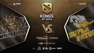 Warlords x Super Patos   Final Low Bracket   BO3   #KODota thumbnail