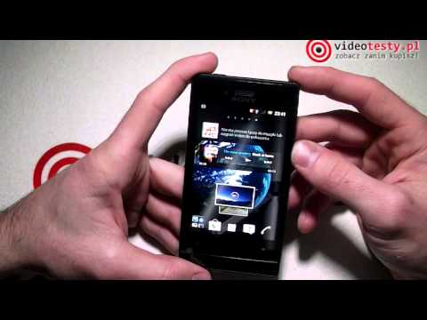 Sony Xperia Miro ST23 - videotesty.pl [RECENZJA]