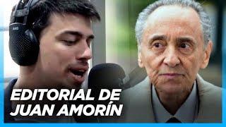 """""""Estamos molestando a los dueños del poder, y eso les preocupa"""" Editorial de Juan Amorín"""