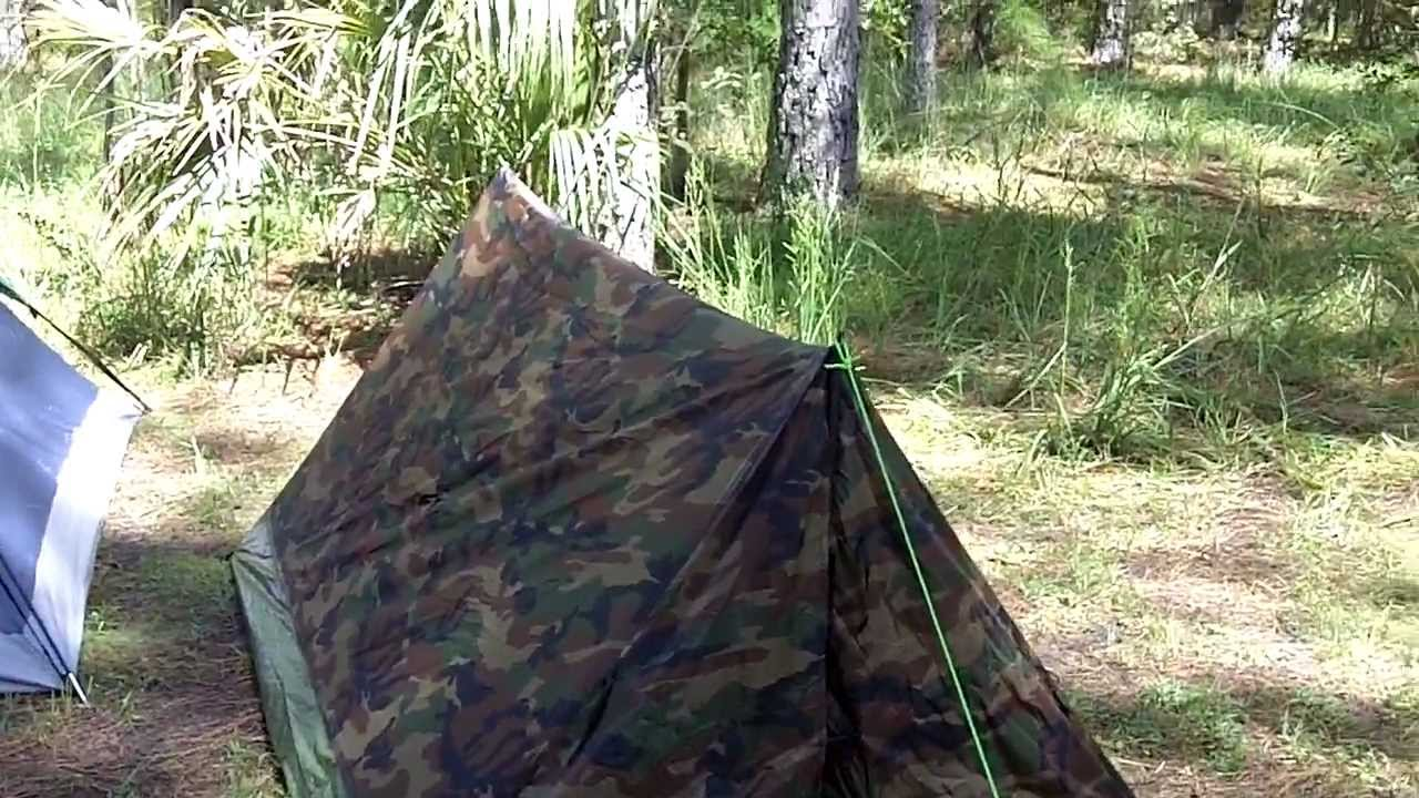 & Texsport 2-Man Pup Tent Review - YouTube