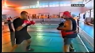 m sahnoune n reportage entrainement de boxe m lamare marseille entr l lavaly