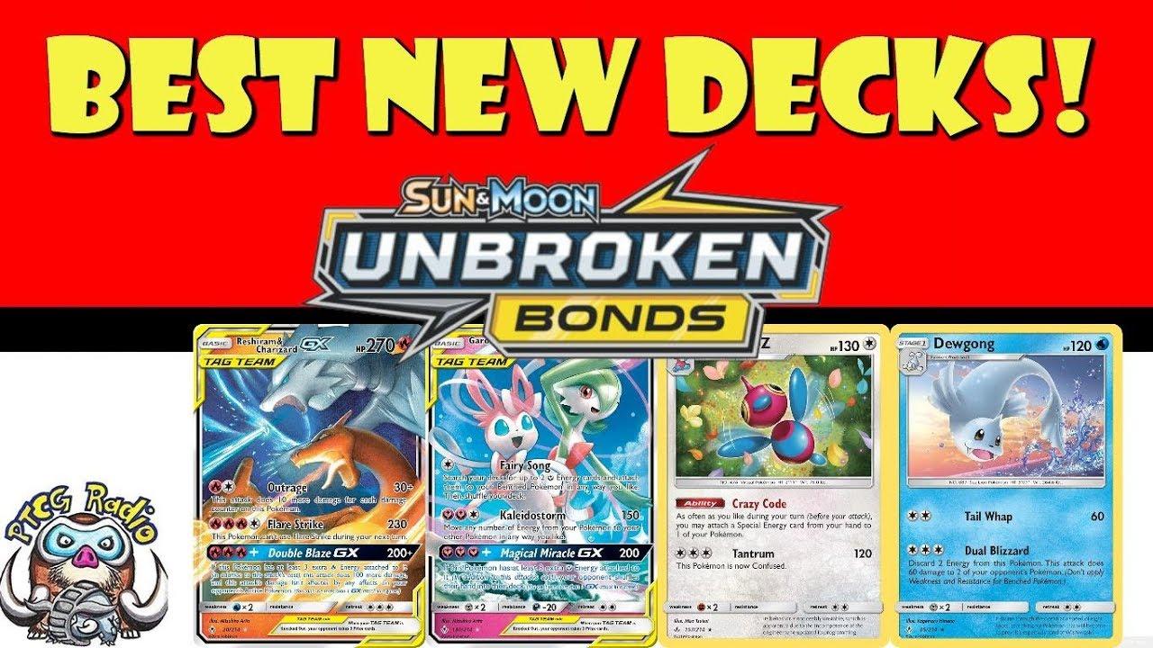 Top 10 New Decks from Unbroken Bonds (Best New Pokemon Decks w/ Decklists)
