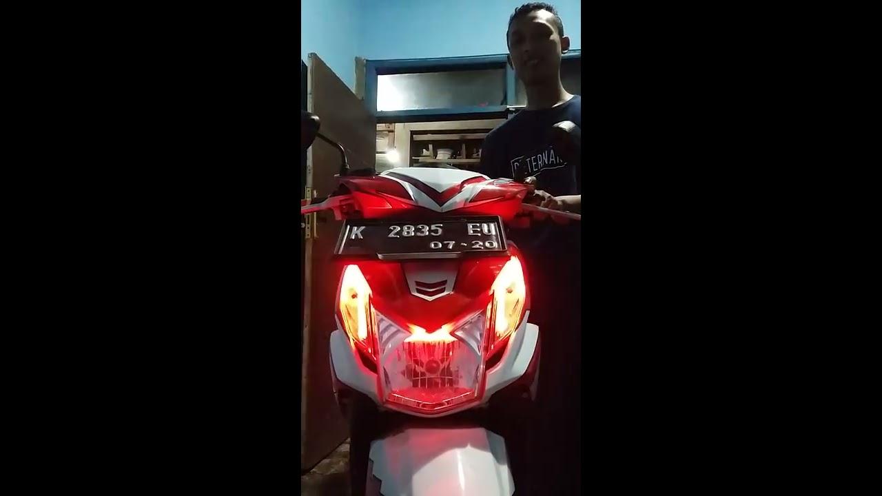 Modifikasi Lampu Depan Motor Beat Lama Mobiliobaru