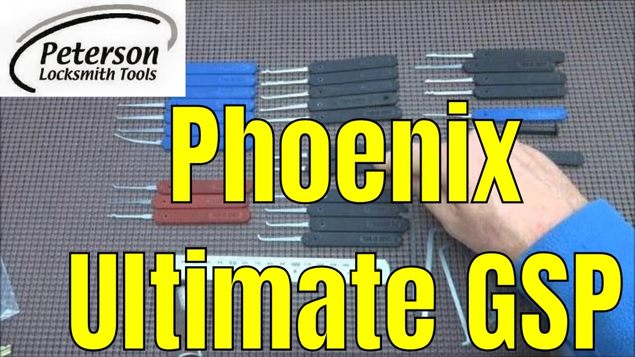 111 Review Peterson Phoenix Ultimate Gsp Lock Pick Set