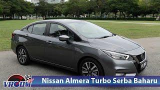 Nissan Almera Serba Baharu dengan suntikan turbo