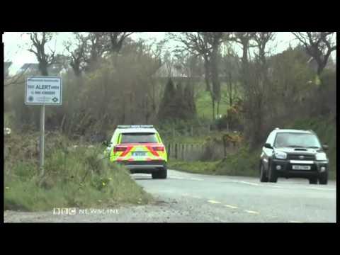 Derrylin  Crane firm pulls out after 'threats'   BBC News