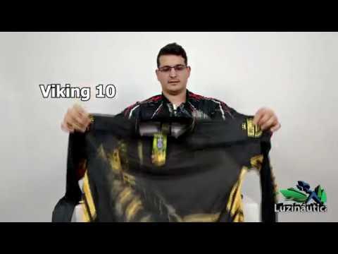 Blusas Sublimadas de Pesca Viking com proteção solar King Brasil