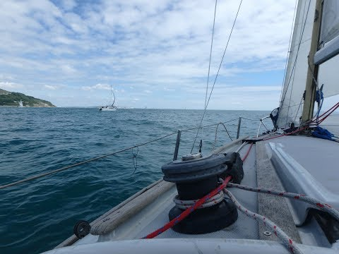 Round The Island race 2017. Sailing 'Sparkle'.