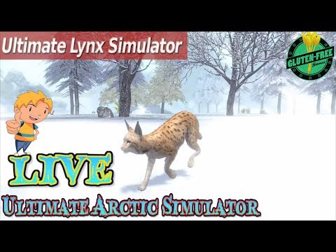 🌨🐈Ultimate Lynx Simulator-Ultimate Arctic Simulator-By Gluten Free games-IOS/Android