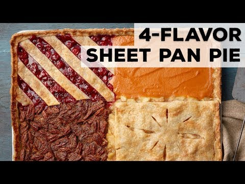 4-Flavor Sheet Pan Pie | Food Network