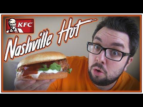 KFC Nashville Hot Review (Sandwich)