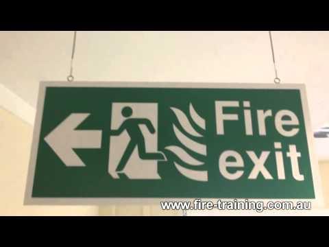 FIRE SAFETY TRAINING -- EVACUATION