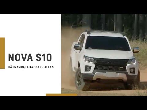 Lançamento da Nova Chevrolet S10   Há 25 anos #FeitaPraQuemFaz