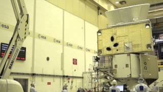 BepiColombo horizontal vibration test