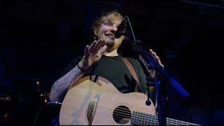 Эд Ширан дал мне ПЯТЬ | Ed Sheeran Private Performance in Austria
