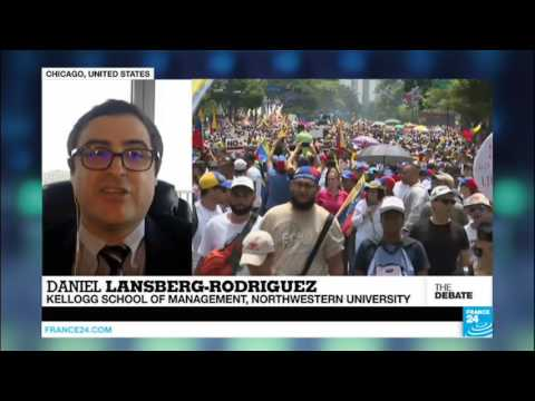"""Venezuela's constitution isn't worth the paper it's printed on"" - Daniel Lansberg-Rodriguez"