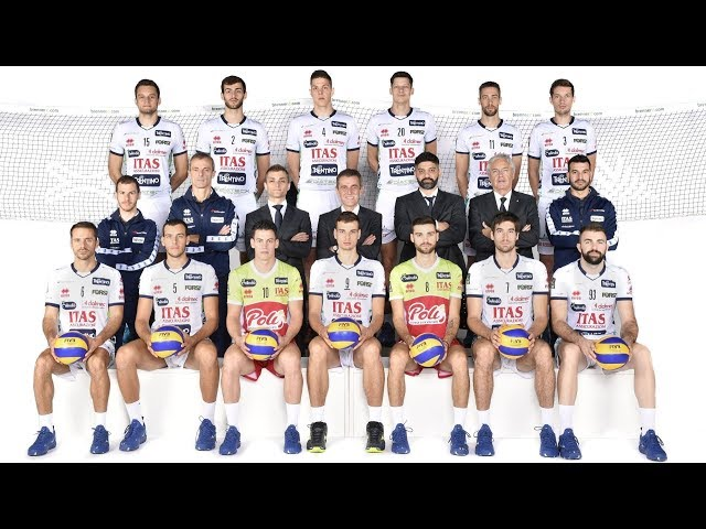 Piacere, noi siamo l'Itas Trentino 2018/19!
