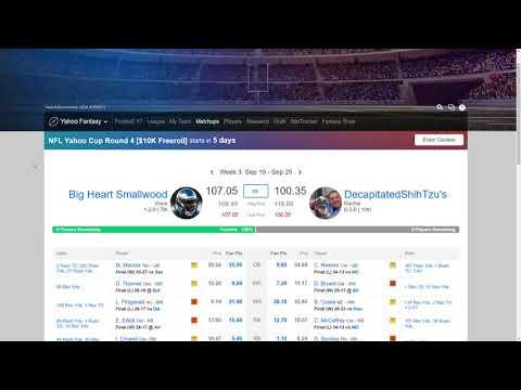 Money League Week 3 Review
