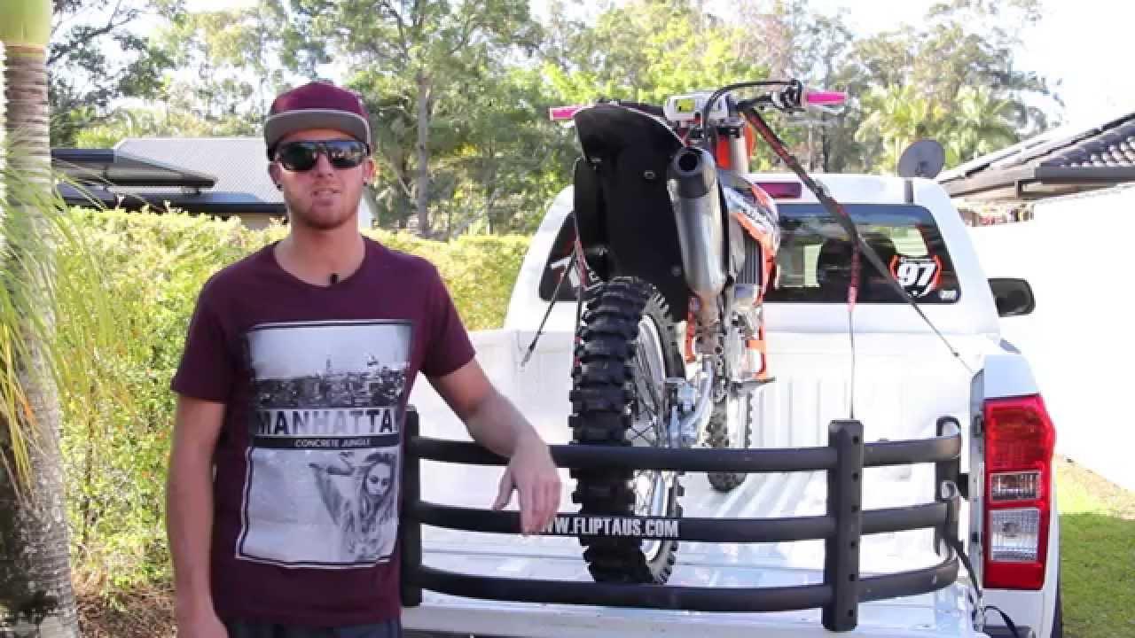 Bike Cage Amp Ute Tray Extender By Flipt Youtube