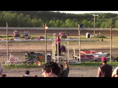 Hummingbird Speedway (6-10-17): BWP Bats Late Model Heat #1