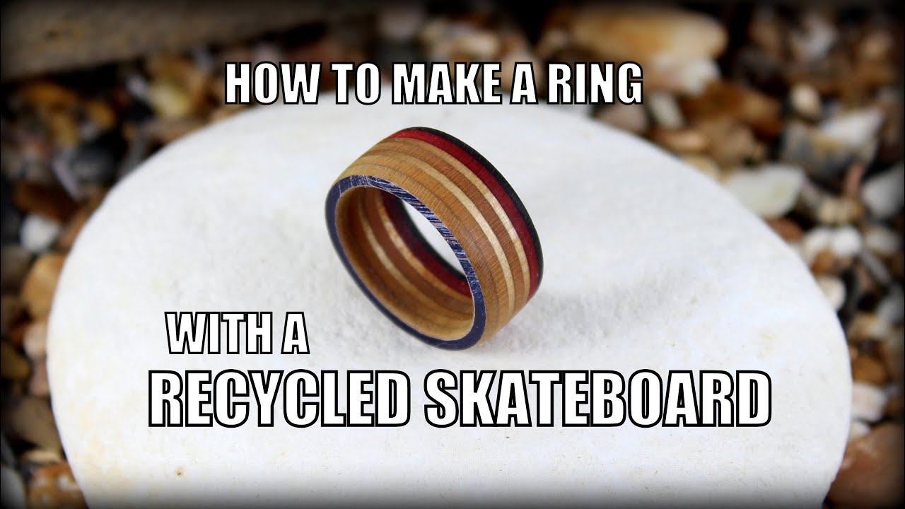 How to make a recycled skateboard ring youtube solutioingenieria Images