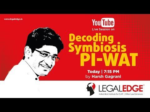 SLAT 2019 (Symbiosis Law School) | Decoding Symbiosis PI-WAT by Harsh Gagrani
